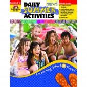 Daily Summer Activities, Between 2nd Grade & 3rd Grade Activity Book  Evan-Moor