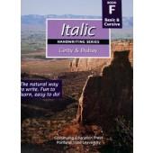 Italic Handwriting Book F (Getty-Dubay)