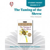 Novel Unit The Taming of the Shrew Student Packet