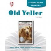 Novel Unit Old Yeller Student Packet