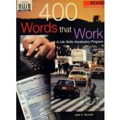 400 Words That Work Teacher's Edition