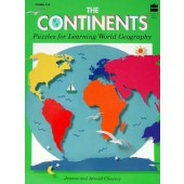 The Continents Puzzles For Learning World Geography