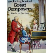 A Coloring Book of Great Composers, Volume 1