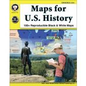 Maps for U.S. History Grades 5-8