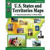 U.S. States & Territories Maps Grades 5-8