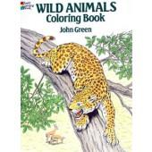 Wild Animals Coloring Book