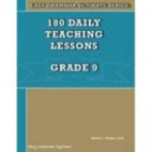 Easy Grammar® Ultimate Series: 180 Daily Teaching Lessons Grade 9 Teacher's Edition