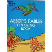 Aesop's Fables Coloring Book