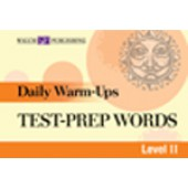 Daily Warm Ups Test Prep Words Level II