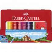48 Classic Color Pencils & Accessories - Tin Set