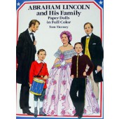 Abraham Lincoln and His Family Paper Dolls