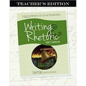 Writing & Rhetoric Book 8: Comparison Teacher's Edition  - Classic Academic Press