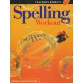 MCP Spelling Workout D, Grade 4 TE (2001/2002 Ed)