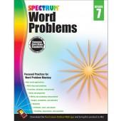 Spectrum Word Problems Grade 7