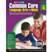 Spectrum Common Core Language Arts and Math Resource Book Grade 4