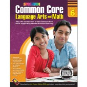 Spectrum Common Core Language Arts and Math Resource Book Grade 6