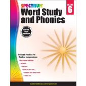 Spectrum Word Study and Phonics Grade 6