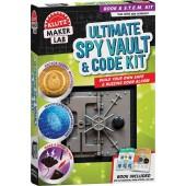 Ultimate Spy Vault & Code Kit: Maker Lab STEM Kit - Klutz
