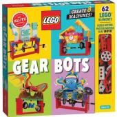 Lego Gear Bots Science/STEM Activity Kit - Klutz