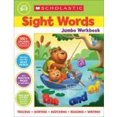 Sight Words Jumbo Workbook - Scholastic