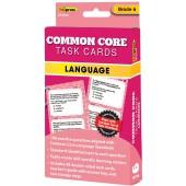 Common Core Task Cards, Language, Grade 6 - Teacher Created Resources (Edupress)