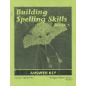 Building Spelling Skills, Grade 1 Key, Second Edition