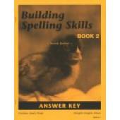 Building Spelling Skills 2 Key, Second Edition