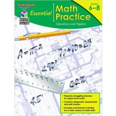 Essential Math Practice: Reproducible Operations and Algebra