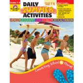 Daily Summer Activities: Moving from 7th to 8th Grade Activity Book Evan-Moore