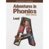 Adventures in Phonics Level A Teacher's Edition, 3rd Ed., Grade K