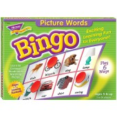 Picture Words Bingo Game - The Learning Journey
