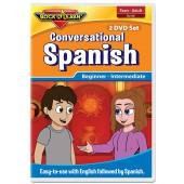 Conversational Spanish 2 DVD Set - Rock 'N' Learn