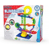 Techno Gears Marble Mania - Slingshot 3.0  - Marble Run - The Learning Journey