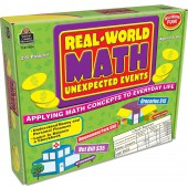 Real-World Math: Unexpected Events, Applying Math Concepts to Everyday Life - Teacher Created Resources