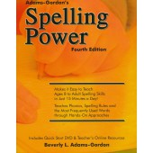 Spelling Power 4th Edition with DVD