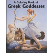 A Coloring Book of Greek Goddesses