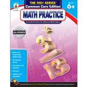 100+ Series Math Practice Workbook Grade 6-8: Common Core Edition