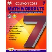 Common Core Math Workouts Resource Book Grade 7
