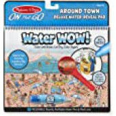 Water Wow Around Town Deluxe Water Reveal Pad - Melissa and Doug