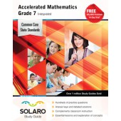 Common Core Accelerated Mathematics Grade 7 Integrated (Solaro Study Guide)
