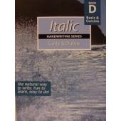 Italic Handwriting Book D, Basic & Cursive (Getty-Dubay)