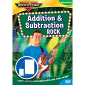 Rock N Learn Addition and Subtraction Rock DVD