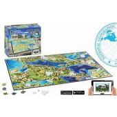 4D Cityscape Ancient Greece Puzzle