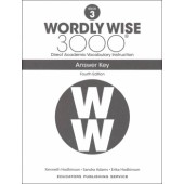 Wordly Wise 3000 Book 3 Key (4th Edition)
