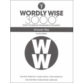 Wordly Wise 3000 Book 7 Key (4th Edition)