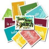 Spanish Amigo Match (Spanish/English Flash Cards and Game)   Classical Academic Press