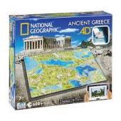 4D Cityscape Ancient Greece Puzzle