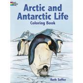 Arctic and Antarctic Life Coloring Book