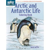 BOOST Arctic and Antarctic Life Coloring Book