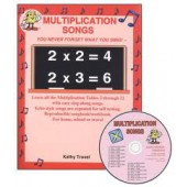Audio Memory Multiplication Songs CD Kit.